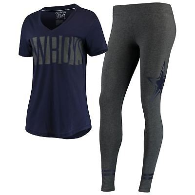 Dallas Cowboys Set Women's Ridley T-Shirt & Leggings DCM NFL