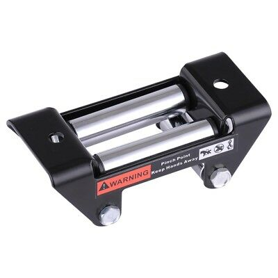 3000lbs to 4000lbs Winch Roller Winch Roller Fairlead Steel Cable Trailer ATV UT