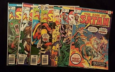 Son of Satan 1 2 3 4 5 7 8 Missing #6 Marvel Comics VF-NM See Images Gil Kane