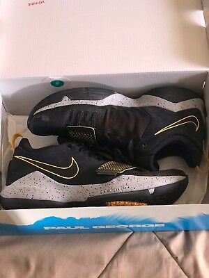 premium selection 5c47b 3a2bc NIKE PG1 PAUL George sz 12 OKC Thunder Authentic Ps4 Black Yellow