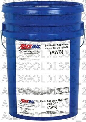 AMSOIL Synthetic Anti-Wear Hydraulic Oil - ISO 22    5 GALLON PAIL
