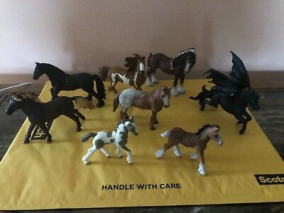 Schleich Am limes 69 D-73527 lot of 9