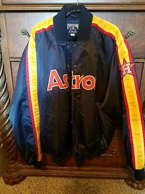 adb4f587663 Majestic Vintage Houston Astros Cooperstown Collection MLB Jacket Men XXL