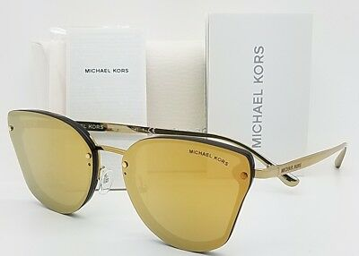 New Michael Kors sunglasses MK2068  30094Z 58 Gold Yellow Mirror 2068 clubmaster