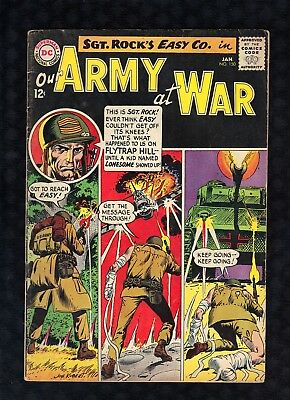 Our Army At War 150 Joe Kubert Cover 1965 DC Comics See Images A2