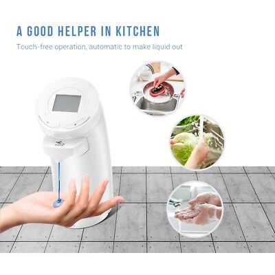 KCASA 200ml Automatic Touchless Infrared Sensor Electric Soap Dispenser Kitchen