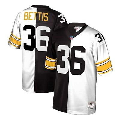 3527195d5e8 Mitchell   Ness Split Home   Away Legacy Jersey Pittsburgh Steelers  36  Bettis