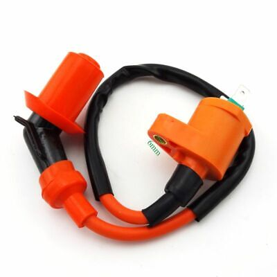 Orange Ignition Coil For 139QMB 157QMJ 50cc 125cc 150cc Scooter Moped Motor