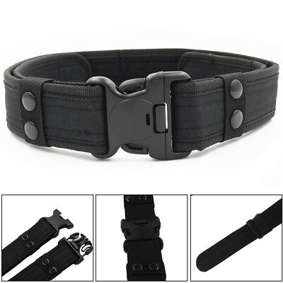 Outdoor Heavy Duty Army Belt Military Tactical Quick-Release Plastic Buckle