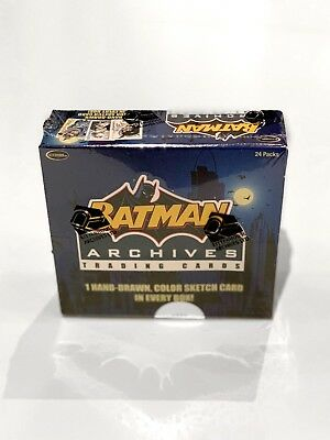 2008 Rittenhouse Batman Archives - Factory Sealed Trading Card Box