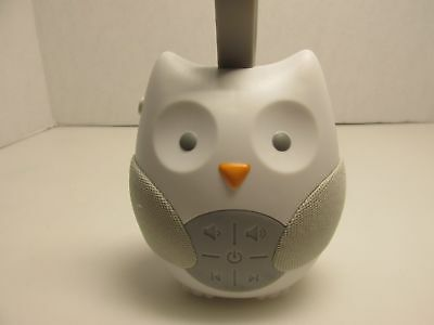 Skip Hop Stroll & Go Portable Owl Baby Soother Sound Machine ~ NEW, No Box -2545