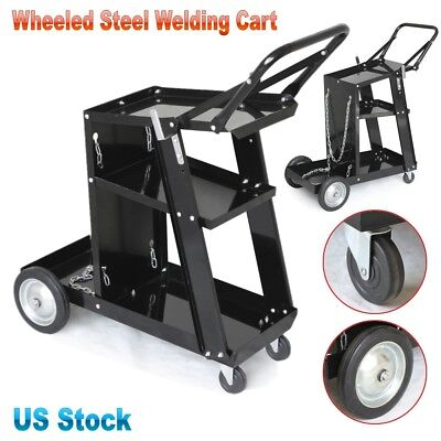Professional Steel Wheeled Movable Welding Cart Plasma Cutting Machine Storage