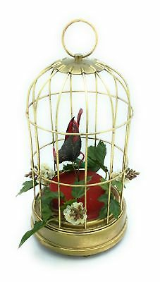 12 Days of Christmas Musical Bird Cage birdcage music box