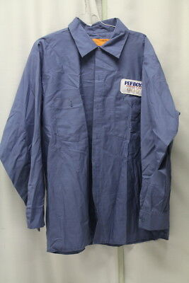 Vintage Pep Boys Shirt With Patch of Manny with Cigar, Moe & Jack