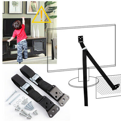 2pcs Anti Tip TV Straps Secure Positioning Baby Child Home Safety