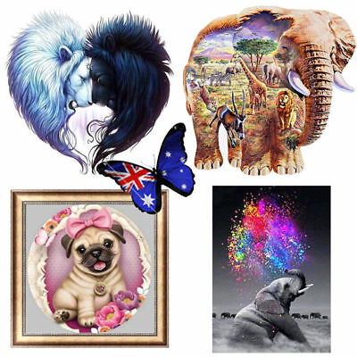 5D Diamond Painting Embroidery Cross Stitch Pictures Art Craft Kit Mural S4