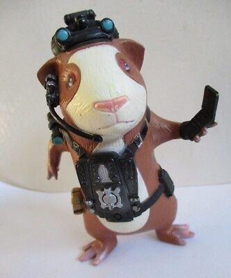 guinea pigs figure 4 inch hamster doll gatsby PVC toy from Disney G force Darwin