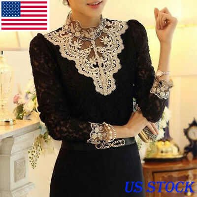 Fashion Women Summer Loose Casual Ladies Long Sleeve Lace Up T Shirt Tops Blouse