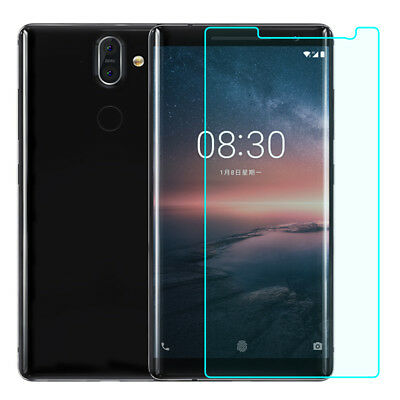 Thin Full Cover Tempered Glass Screen Protector For Nokia 8 Sirocco 7 Plus 6 2