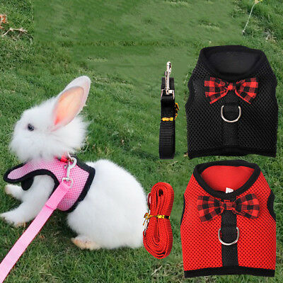Pet Supplies Harness Leash Strap Lead For Hamster Rabbit Guinea Pig Ferret Gog