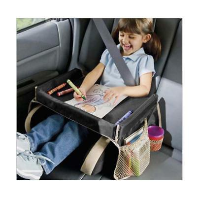 Car Child Safety Seat Snack Play Travel Tray Kids Drawing Board Table Waterproof