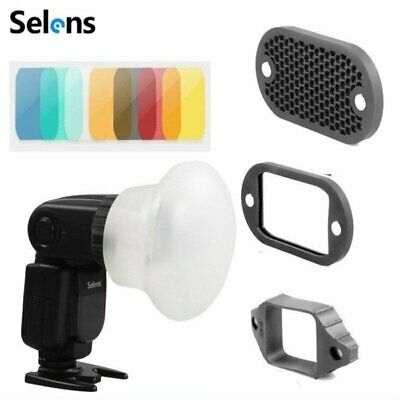 Selens Magnetic Flash Accessories Modifier Gel Filter Diffuser Bounce Snoot Band