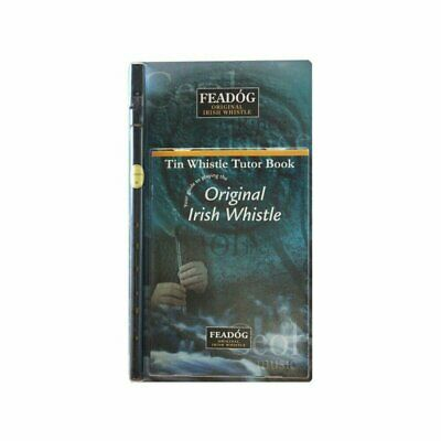 Tin Whistle Feadog Black D Irish Whistle - DOUBLE PACK