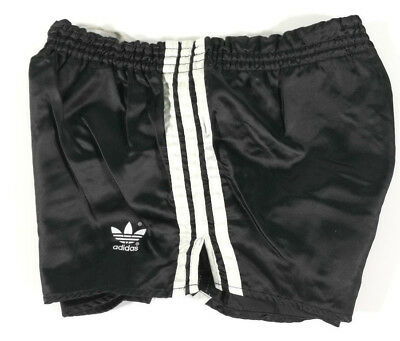 Adidas Short Vintage West Germany Nero A Righ Bianche Old Running Sport Pants