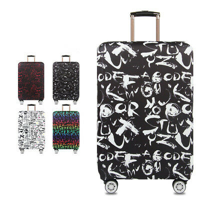 18-32'' Elastic Thick Luggage Cover Trolley Case Suitcase Dust Travel Protector