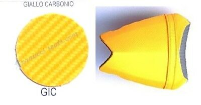 Ecopelle carbon look per sella moto, synthetic leather for motorcycle seat