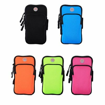 Waterproof Mobile Phone Wallet Pouch Sport Running Arm Band Pouch BI