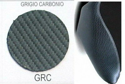Ecopelle carbon look per selle moto, synthetic leather for motorcycle seat