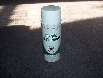 Vintage Texaco Spray Can of Rust Proof Rustproof Texaco Inc. New York NY