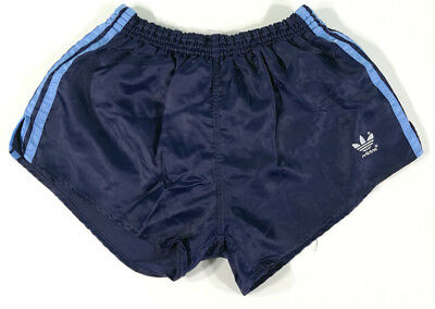 Adidas Short West Germany Vintage Blu A Righe Azzurre Old Running Sport Pants