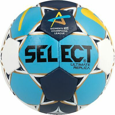 Select HB-Ultimate Replica Handball weiß/blau/gelb Training Ball Handbälle