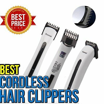 CORDLESS Rechargeable Electric Hair Clipper Body Hair Beard Neck Trimmer AB