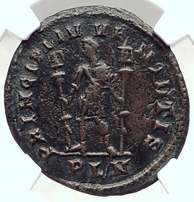 CONSTANTINE I the Great 307AD London Londinium  Ancient Roman Coin NGC i72953
