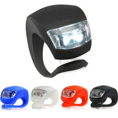 Wheel New Rear Cycling Set Front Silicone Led Bicycle Mountain Light Lamp Bike