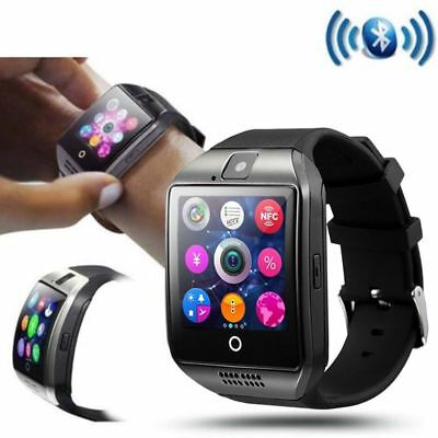 Q18 Tactile Bluetooth Montre Connectée SIM TF GSM pr Android iPhone avec Caméra