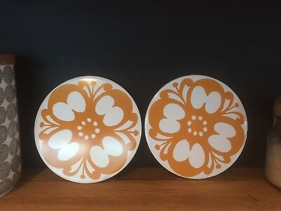 Vintage Retro Jersey Pottery Table Protectors