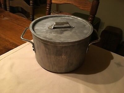 Vintage TOROWARE By LEYSE 8 1/2 QT STOCK Pot 53081/2 U.S.A.  Cooking Camping etc