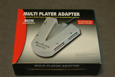 Playstation 1 PS1: Multi Player Adapter 4 Players [w/ Box]