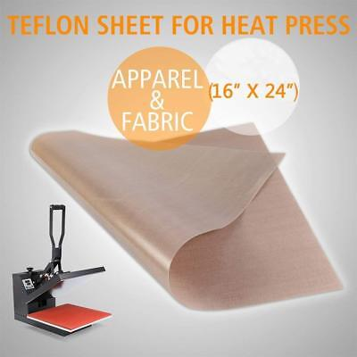6 Pack Heat Press Teflon Sheet for Non Stick Sublimation Transfer Craft Mat