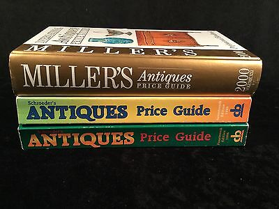 Lot Antique Price Guide Books Miller's Schroeder's International Collector Value