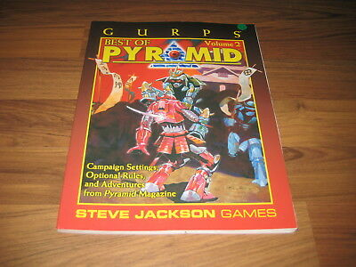 GURPS 3rd Edition Best of Pyramid Volume 2 Sourcebook 2001 Steve Jackson Games