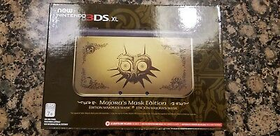 New Nintendo 3DS XL Legend of Zelda: Majora's Mask Limited Edition
