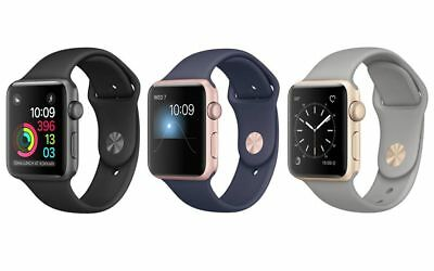 Apple Watch Series 1 38mm or 42mm Aluminum Silver Rose Gold Space Gray *A Grade*
