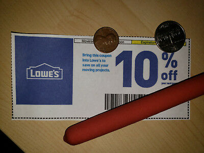 (5x) Lowe'sCoupons 10% off purchase - Valid through 01-31-19