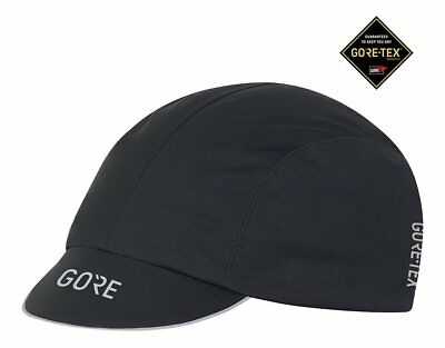 Gore Wear C7 Gore-Tex Cap, Black, One Size, Waterproof, Windproof, Breathable