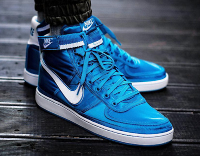 NIKE VANDAL HIGH Supreme (318330 400) Men's Trainers Uk 7 Eu